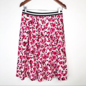 Kate Spade Rose Print Skirt